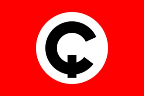 Fictional Flags similar to the flag of Nazi Germany